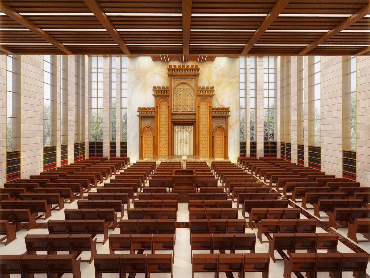 orhot tora yeshive. interior design riki gruzman