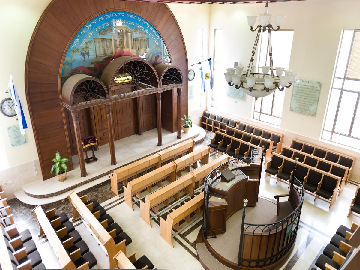 ריקי גרוזמן אדריכלית בתי כנסת