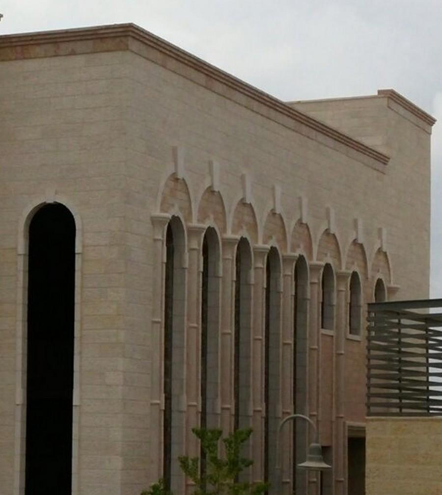 פרטי אבן בית כנסת אדריכלות ריקי גרוזמן