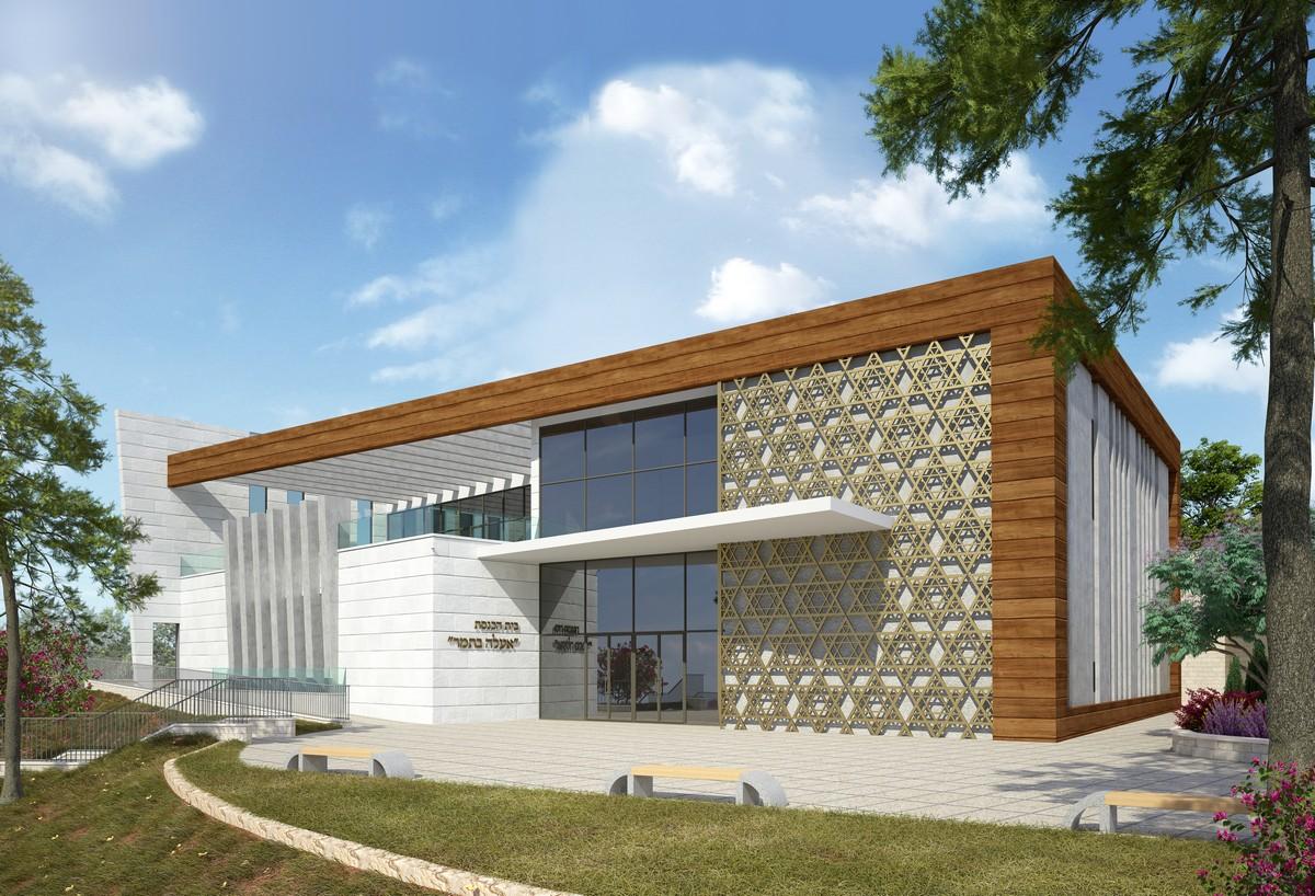 אדריכלות בית כנסת סנסנה ריקי גרוזמן