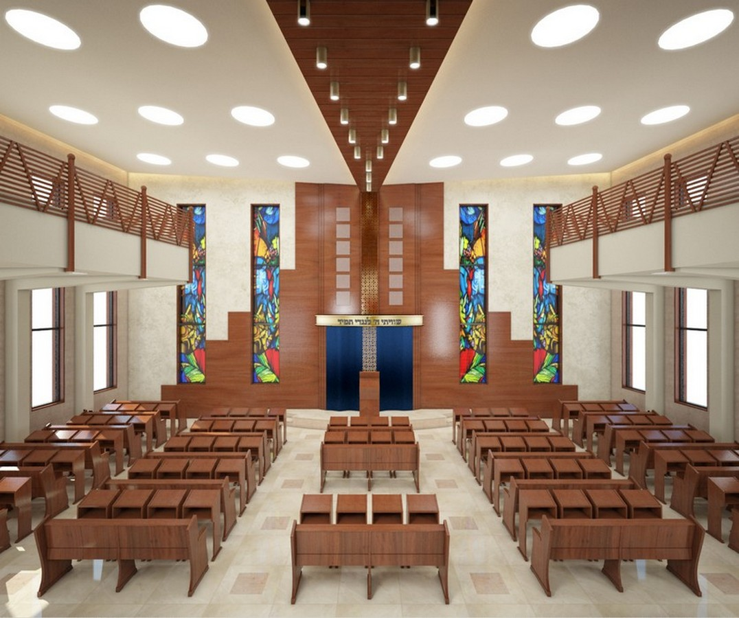 ריקי גרוזמן אדריכלות בתי כנסת