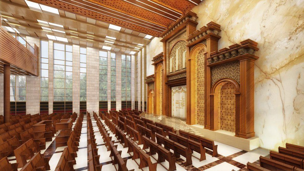 ישיבת ארחות תורה אדריכלות פנים ריקי גרוזמן