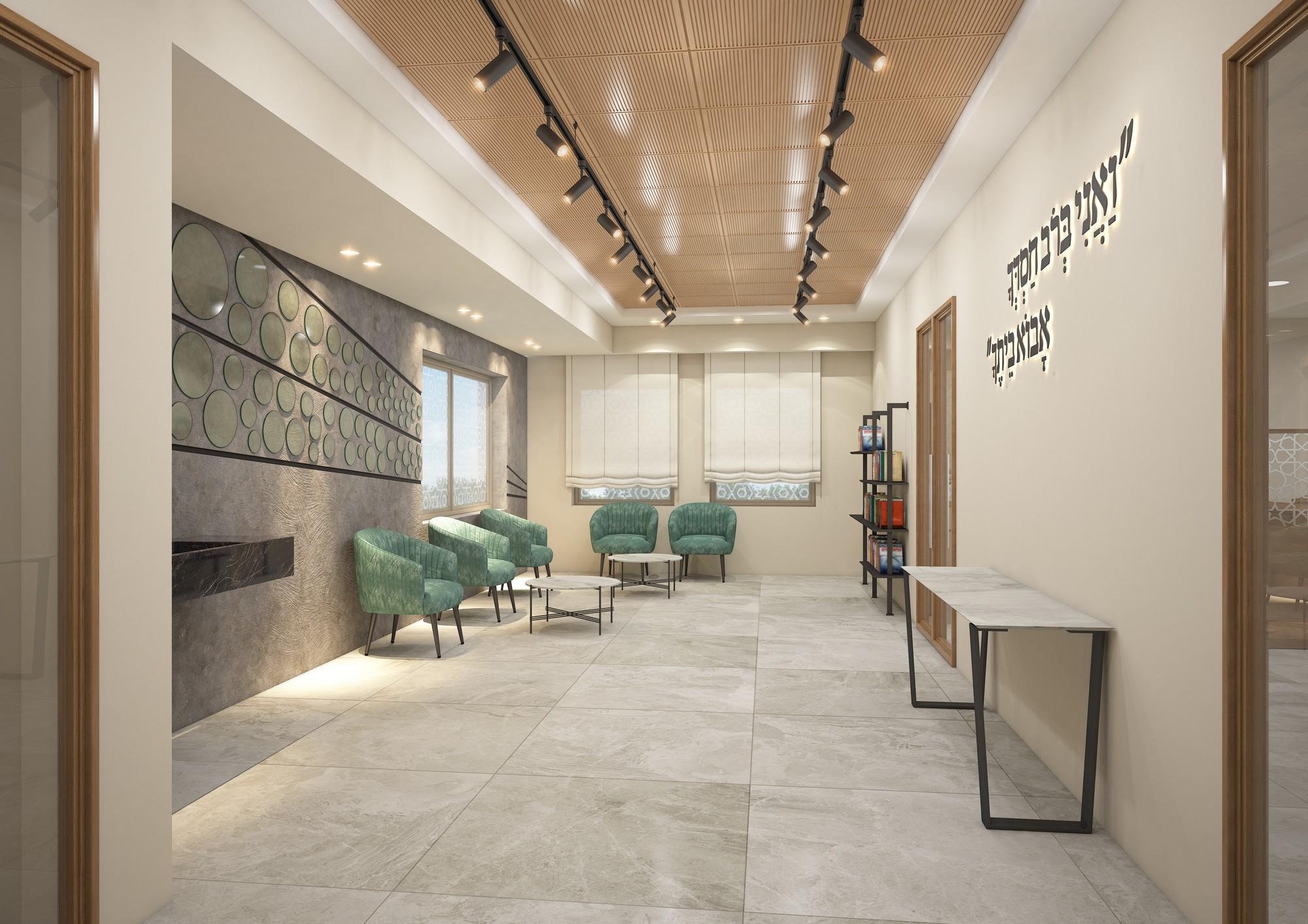 """בית הכנסת של קהילת """"יחד"""" הינה קהילה צעירה ותוססת, בשכונת פסגת אונו - לובי"""